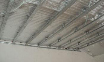 Двухуроневые потолки гипсокартоном, каркас
